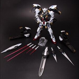 Image 5 - BANDAI figurines daction MG 1/100 PB 00 GN 001/hs A01 Avalanche Exia GUNDAM, couleur neige noir et blanc, jouets cadeaux de noël