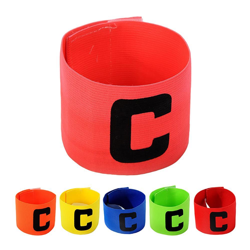 Hot Sale Football Match Captain Armband Paste Winding Type C Shape Armband Football Supplies High Quality