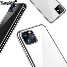 1:1 Original Official Case For iPhone 11 Pro 2019 Xs Max X 7 8 Plus Crystal Transparent Hard Back Cover Phone