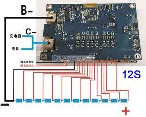 Image 3 - 5S do 16S inteligentny Bluetooth 40A 80A 100A 150A akumulator litowo jonowy Lifepo4 LTO bateria litowa płyta ochronna BMS równowagi 6S 7S 8S 10S 12S 14S