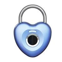 Fingerabdruck-schloss Smart Elektronische Schloss Kleine Schloss Haushalt Passwort Lock Vorhängeschloss Schrank Lock