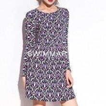 Стиль весна юбка ультра-эластичные утягивающие платье с цветочным рисунком в Корейском стиле-Стиль стиль талии облегающие юбка Код отдел женские платья