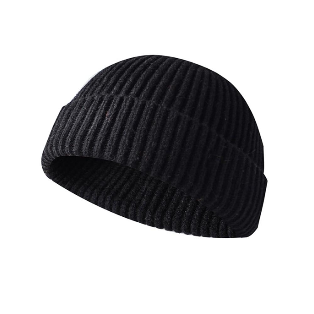 [AETRENDS] Winter Hat Men Women Beanie Skull Caps Soft Knit And Plain Cuffed Design Beanies Z-9964