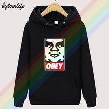 Obedecer gigante retro outono hoodies de alta qualidade superior hoodie lã dos homens vestuário moletom pulôver tamanho asiático