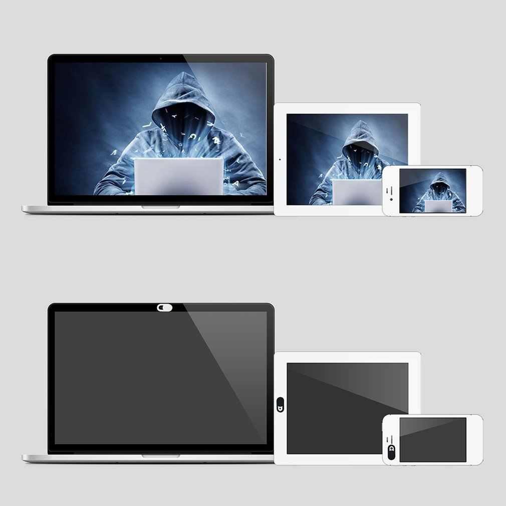 العالمي غطاء كاميرا الويب مصراع المغناطيس المنزلق البلاستيك آيفون ويب محمول لباد اللوحي كاميرا الهاتف المحمول الخصوصية ملصق