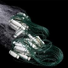 Рыболовная рыболовная сетка ловушка монофиламент жаберная сеть рыболовные снасти открытый 8 м x 0,8 м M7DC