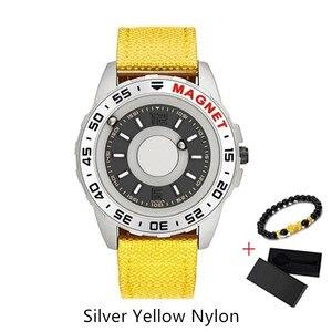 Image 2 - EUTOUR reloj magnético de cuarzo para hombre, resistente al agua, cronógrafo de pulsera, informal, a la moda, saati erkek kol, 2020