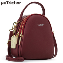 Fashion Leather Mini Backpack Purse for Women Ladies Tote Multi-Function Luxury Shoulder Bag Messgner Bags Mochila Feminina NEW