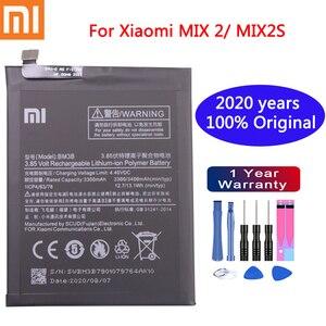 Image 1 - Xiaomi Original Replacement Phone Battery BM3B 3300mAh  For XiaoMi Mix 2 / Mix 2S High Capacity Phone Batteries Free Tools
