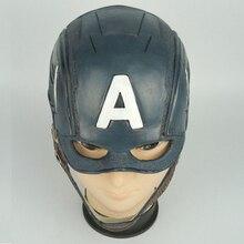 Đội Trưởng Mỹ Cosplay Mặt Nạ Trang Phục Đảng Mũ Bảo Hiểm Đạo Cụ Nội Chiến Halloween Mềm Mại Cao Su Masker