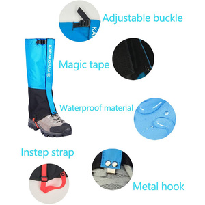 Image 4 - Waterproof Snow Leg Gaiters Hiking Boot Legging Shoes Warmer Snake Shoe Cover Tourist Outdoor Camping Trekking Climbing Hunting