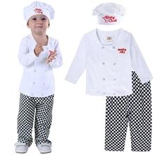 3 шт., детский костюм шеф повара на Хэллоуин