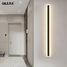 Lâmpadas de parede modernas nordic led luminária de parede sala estar quarto lâmpada de cabeceira wandlamp escadas led luminária de parede