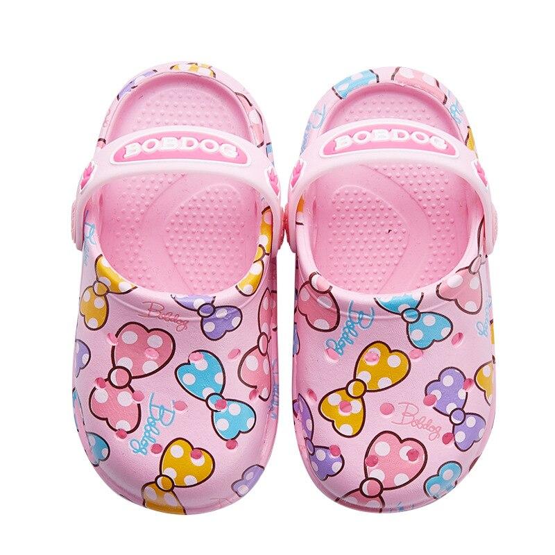 Bob Dog Kids Sandals Boys Slippers 2020 Summer Children Beach Sandals For Toddler Boy Girl Hole Shoes 2 In 1 Slippers Sandals