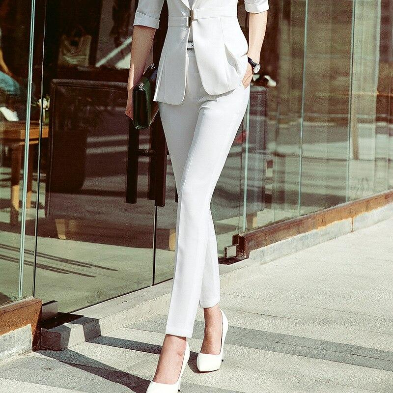 Женские офисные брюки, прямые брюки под платье, весна-осень 2020, черно-белые деловые брюки в Корейском стиле