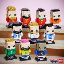 10pcs/lot Magic Blocks Mini Blocks football player