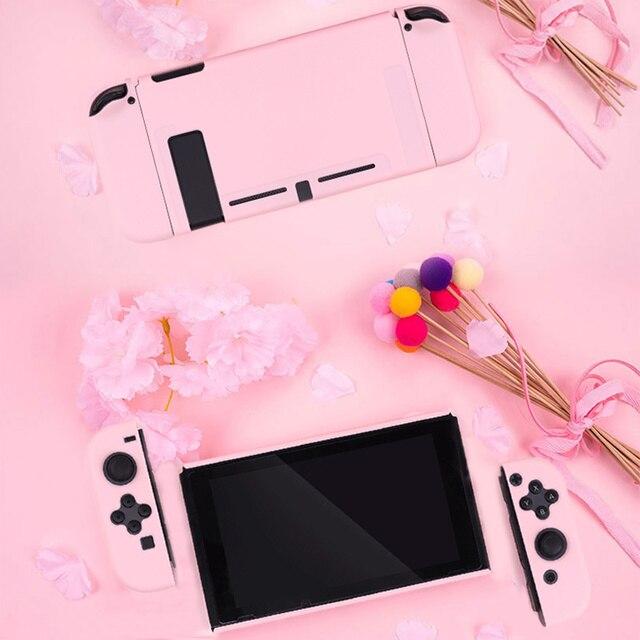 Étui protection Customisation Rose Console Joy-Con Nintendo