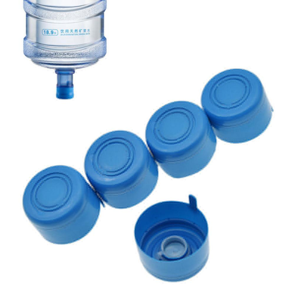 10Pcs lot 3 Gallon 5 Gallon Water Bottle Snap On Lids Non Spill Reusable Replacemet Water Bottle Caps Anti Splash Peel Off Tops in Water Bottles from Home Garden
