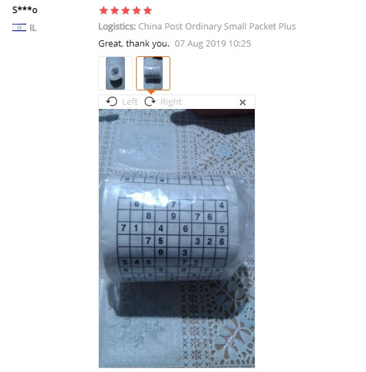 1 рулон, 2 слоя, новинка, забавный номер, с принтом Sudoku, WC, для ванной, смешная мягкая туалетная бумага, тканевые принадлежности для ванной, Подарочная туалетная бумага