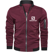 2021 novos homens jaquetas & casacos homens jaqueta masculina motocicleta streetwear bombardeiro jaqueta simples estilo b