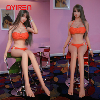 AYIREN 158cm Sex Doll for Men Lifelike Japanese Sweet Young Girl Big Breast Love Doll Oral Sexy Toys Anal Silicone Adult Toys