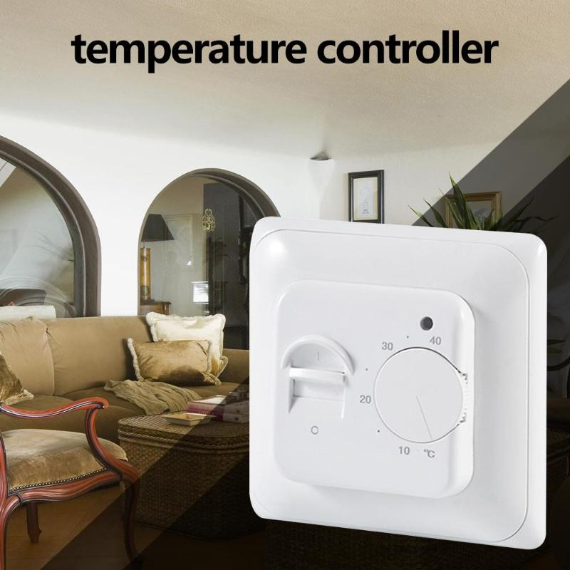 Multifunction Water Electric Floor Heating Thermostat Warm Floor Temperature Controller High Accuracy And Good Sensitivity