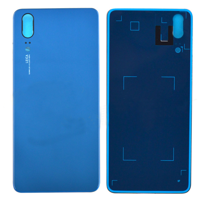 Battery Cover Housing For Huawei P20 Back Cover Glass Rear Door Case with Camera Lens Replacement Part EML-L09C L29C AL00 TL00