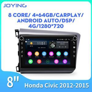 Android 8.1 Car stereo Player GPS Navigation Multimedia For Honda Civic Radio 2012 2013 2014 2015 GPS Navigation system 4G& WIFI