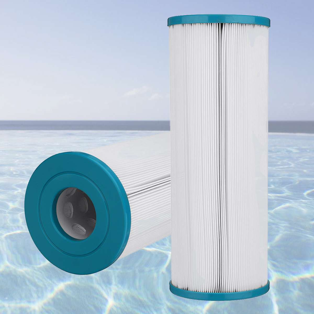338x125x54mm Pool Filter Cartridge Replacement Element For Rainbow Dynamic RDC 2 Pool Spa Filter Cartridge