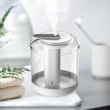 Difusor de aromaterapia con aceites esenciales, humidificador de aire para habitación con carga USB, generador de niebla con luz LED nocturna calmante