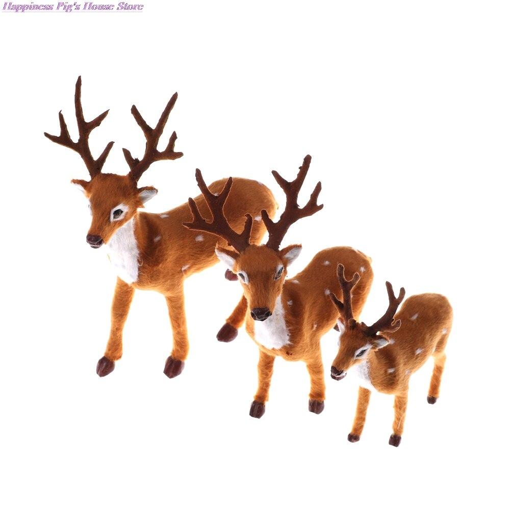 Купить 1 шт горячая распродажа имитация на рождество олень рождественский