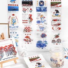 Outfit-Tape 16pcs/Lot Stationery-Sticker Decoration World-Series Shared Fairy Tale DIY