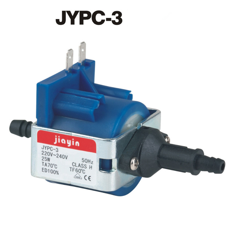 Steam Hanging And Ironing Machine Fittings 19W Suction Valve JYPC-3 25W Electromagnetic Pump Pumping Valve