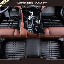 Custom car floor mats For Porsche all model 911 Cayman Cayenne macan Panamera car mat Interior Accessories Floor Mats car carpet цена 2017