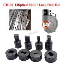 1Pcs Hydraulic Punching Mould CH-70 Elliptical Hole / Word Long Hole Hydraulic Punching Dies Manual Punch Die