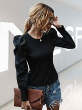Женская футболка с длинным рукавом в стиле ретро Осень/Зима