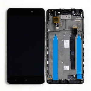 "Image 4 - 5.0 ""המקורי M & סן עבור Xiaomi Redmi 4 (2GB RAM 16GB ROM) LCD תצוגת מסך + מגע Digitizer לוח עבור Redmi 4 LCD מסגרת"