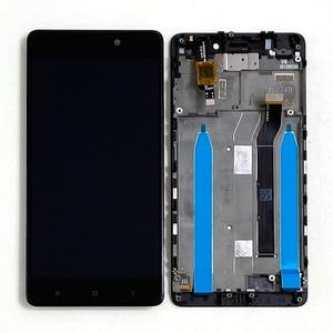 "Image 4 - 5.0""Original M&Sen For Xiaomi Redmi 4 (2GB RAM 16GB ROM) LCD Screen Display+Touch Panel Digitizer For Redmi 4 LCD Frame"