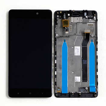 "5.0""Original M&Sen For Xiaomi Redmi 4 (2GB RAM 16GB ROM) LCD Screen Display+Touch Panel Digitizer For Redmi 4 LCD Frame"