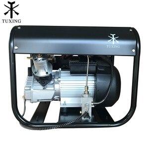 Image 2 - Smokin 4500Psi Pcp hava kompresörü otomatik durdurma yüksek basınç çift silindirli pompa pnömatik tüfek gaz tankı dolum 220V 110V