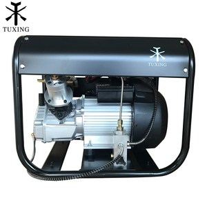 Image 2 - Tuxing 4500Psi Pcp Air Compressor Auto Stop Hoge Druk Dubbele Cilinder Pomp Voor Pneumatische Rifle Gas Tank Vullen 220V 110V