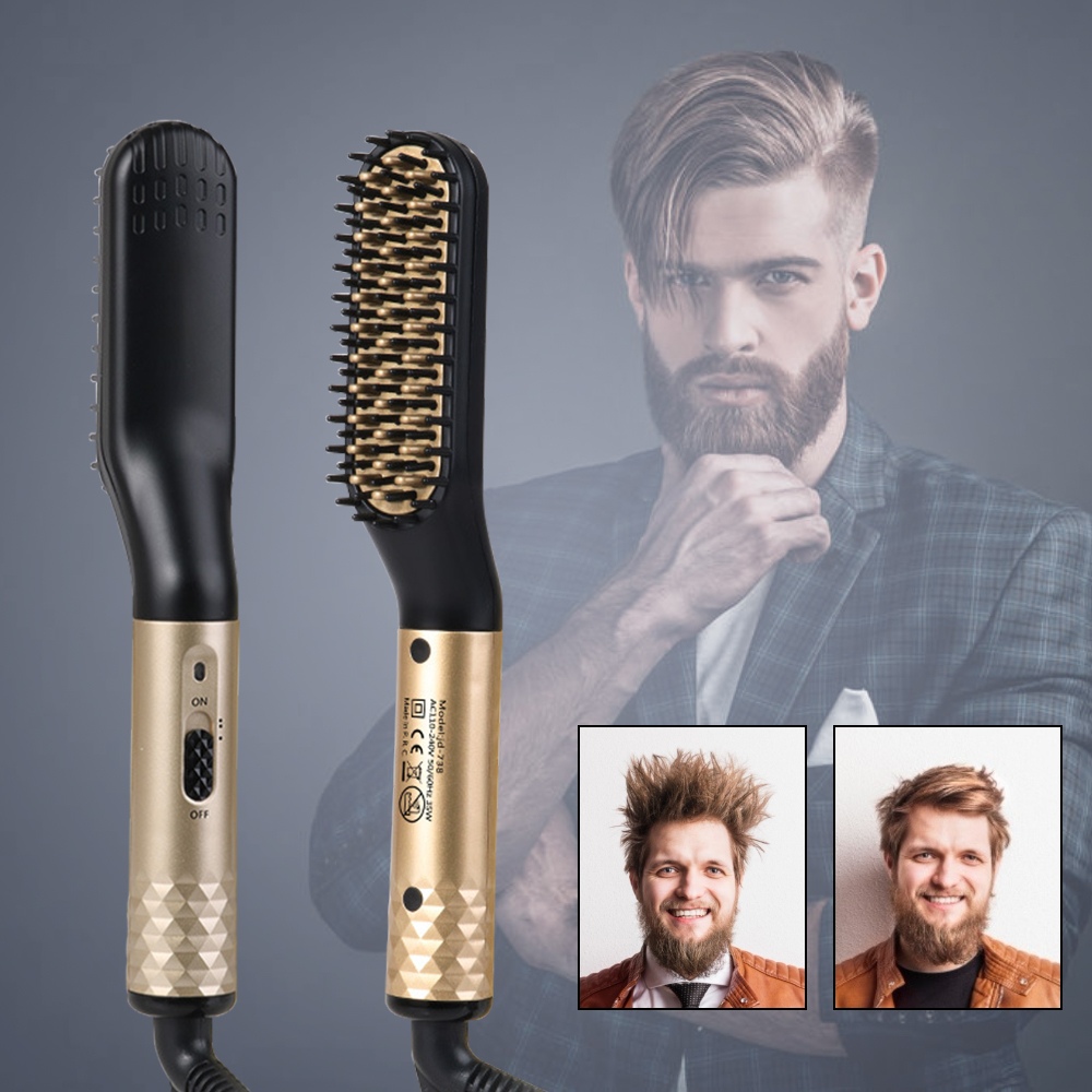 Beard Straightener Brush 4