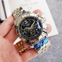 Breitling high end brand quartz wrist watch for men watch for women watch classic fashion watch 10