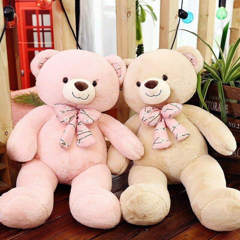Teddy Bear Doll Plush Toy Huge Bear Doll Xmas Gift Giant Bear Valentine Day Toy Stuffed Animals  Cute Plush  Toys For Children