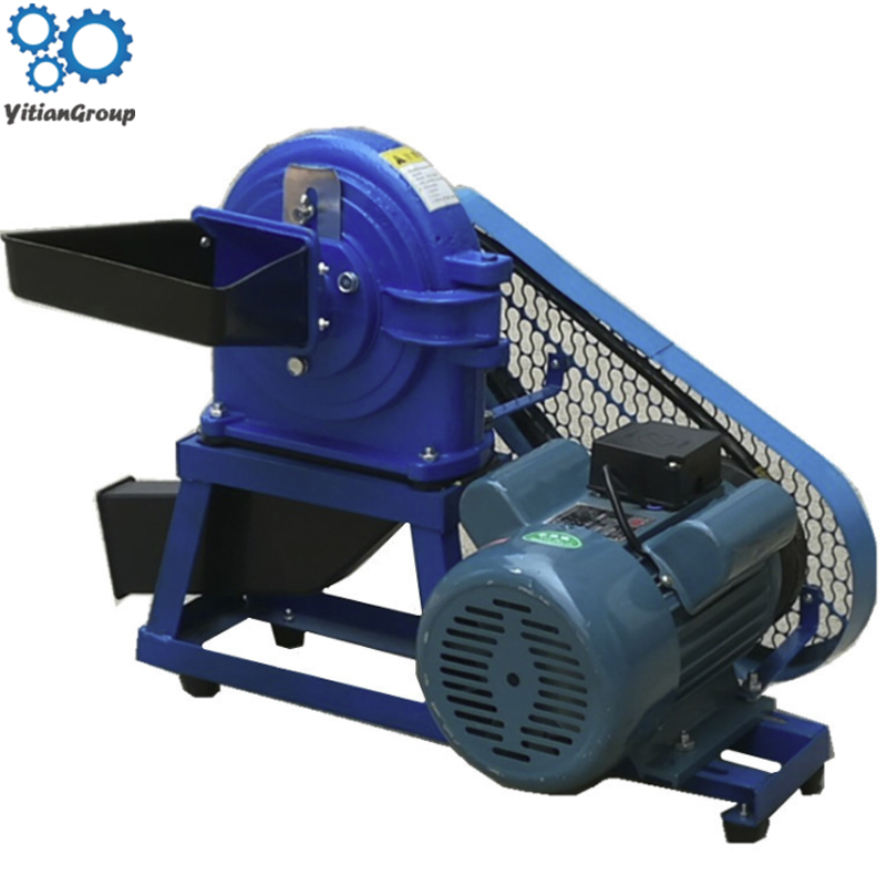 15B High Speed Grain Powder Grinder 2200W Continuous Multi-function Pulverizer Mill Powder Machine Crushing Herbal Medicine
