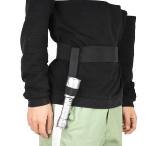 Black Nylon Holster Pouch Cover Case Belt Bag Flashlight Torch ZJ