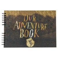 29.5 x 21.3 cm 40 Pcs / 80 Pages Black Paper Scrapbook Wedding Guest Book DIY Our My Adventure Book Scrapbooking Photo Album