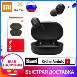 Xiaomi Redmi airdots 2 TWS Earphone bluetooth Earbuds 5.0 xiaomi airdots 2 Wireless Earphones Russian warehouse straight hair