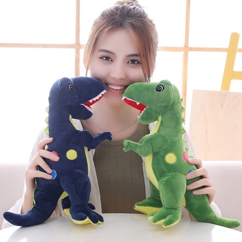 New Arrival Dinosaur Plush Baby Toys Cartoon Tyrannosaurus Stuffed Toy Dolls For Children Friends Boys  Birthday Gift     AP hot new fluffy comfort superman panda plush toy soft stuffed animal mascot doll friends gift boys children birthday baby toys