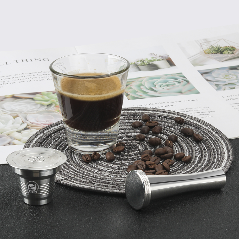 i Cafilas Reusabel Coffee Capsule for Nespresso Filter for Dolce Gusto Pod for Cafissimo Coffee Cup for Lor Stainless Steel Pod|Coffee Filters| - AliExpress